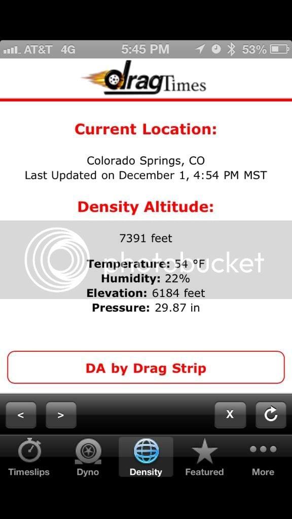 COBB AccessPORT, My BETA testing dyno results at 6000+ feet