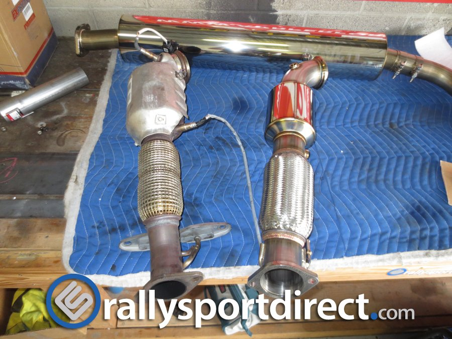 VIDEO: mountune exhaust with review and installation! By